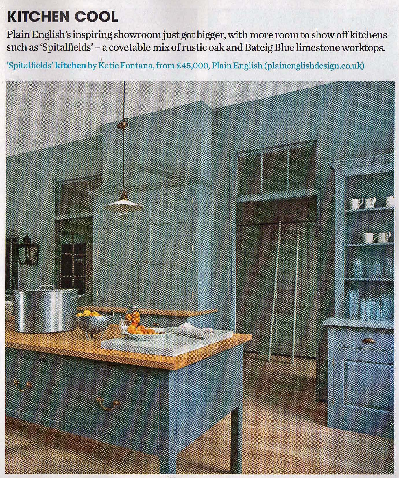English Kitchen Design: Cross-dressing For Austerity: Interior Design Into 2011